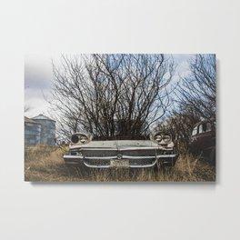Car Graveyard 2 Metal Print