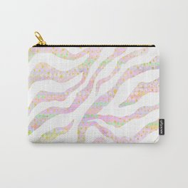 pastel zebra pattern Carry-All Pouch