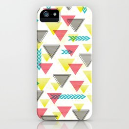Wild Triangles iPhone Case