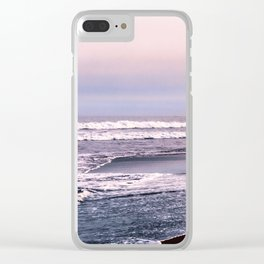 Northern beach Clear iPhone Case
