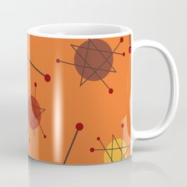 Atomic Era Autumn 2 Coffee Mug