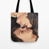 okay Tote Bags featuring Okay? Okay. by Gillions