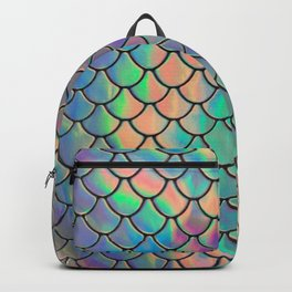 Iridescent Scales Backpack