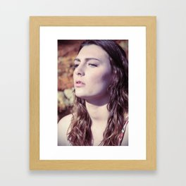 sand and water8 Framed Art Print