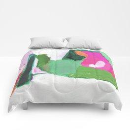 Streamline (watermelon) Comforters
