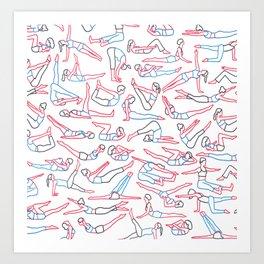 Workout Art Print