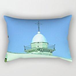 Heaven, cross righteous God. Rectangular Pillow