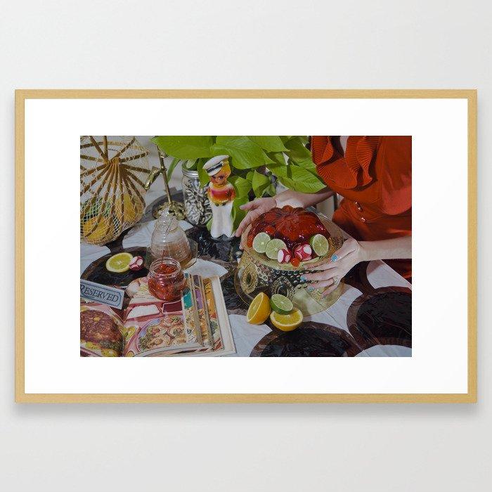 You'll Eat It And You'll Like It Framed Art Print