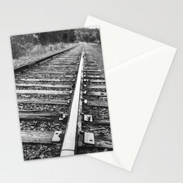 Railroad Tracks at McKeever Stationery Cards