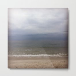 A cloudy day in New York Metal Print