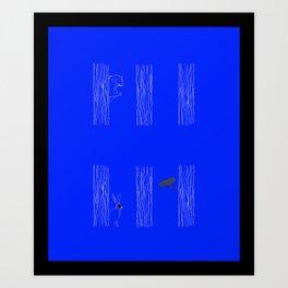 Private spaces Art Print