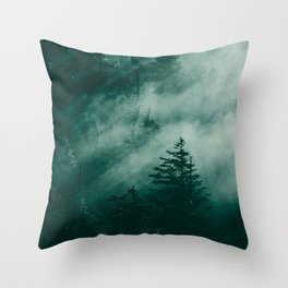 The Beckoning of the Unknown Throw Pillow