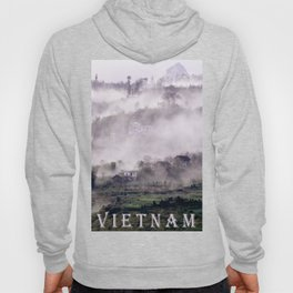FOGGY FOREST in the VIETNAMESE MOUNTAIN Hoody