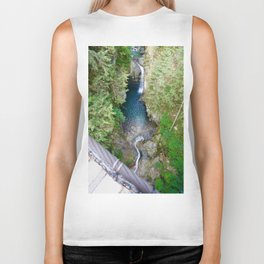 lynn canyon suspension bridge, 2017 Biker Tank