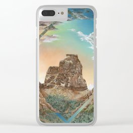 Colorado National Monument Polyscape Clear iPhone Case
