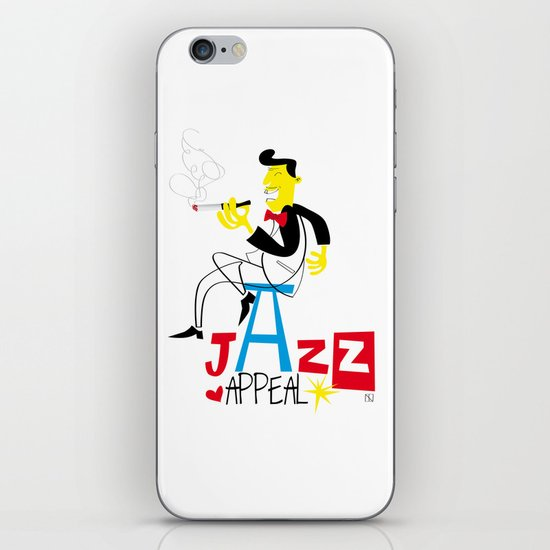jazz appeal iPhone & iPod Skin