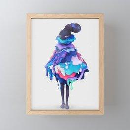 Lollipop Queen Framed Mini Art Print