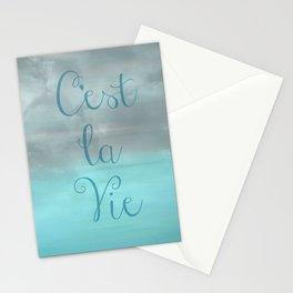 C'est La Vie Stationery Cards