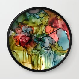 Our roots define our future Wall Clock