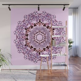 floral crown Wall Mural