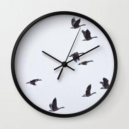 Birds -Scandinavian Minimalist Art Wall Clock