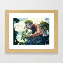 Libertad  Framed Art Print