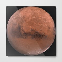 Far far away from here on the MARS Metal Print