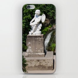 Sculpture in the park iPhone Skin