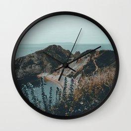 Jurassic Coast Bohemian Wall Clock