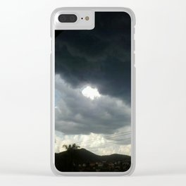 Eye To Eye Clear iPhone Case