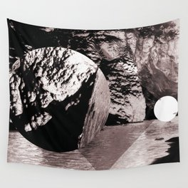 A Way to Tiresias (Deconstructed Polyscape 2) Wall Tapestry