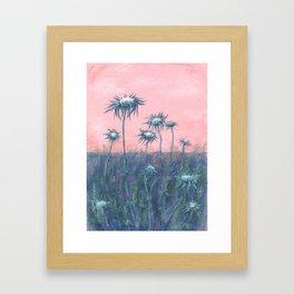 The ode to burdock Framed Art Print