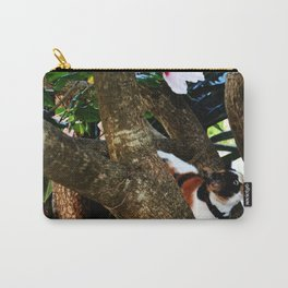 Hibiscus flower cat Carry-All Pouch