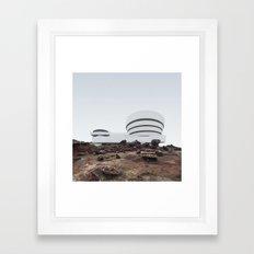 Misplaced Series - Solomon R Guggenheim Museum Framed Art Print