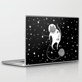 Space Cat Proves String Theory Exists Laptop & iPad Skin