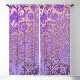 Wiiliam Morris revamped, art nouveau pattern Blackout Curtain