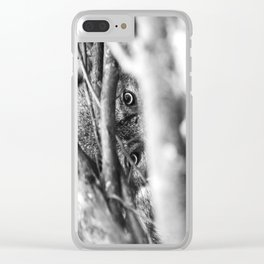 Wild Eyes Wolf Edition Clear iPhone Case