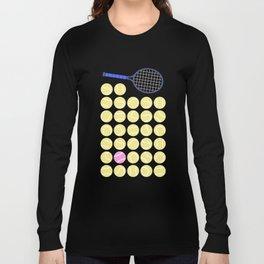 A Pink Tennis Ball in the Rough Long Sleeve T-shirt