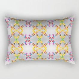 Garlands of colorful balls Rectangular Pillow