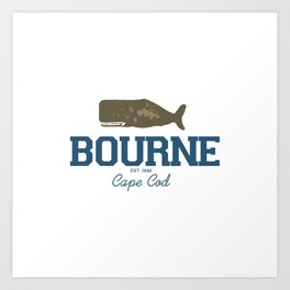 Bourne, Cape Cod Art Print