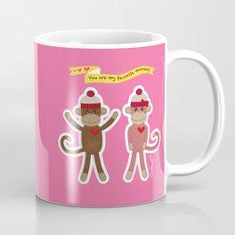 Favorite Monkey Coffee Mug