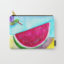 Watermelon and bird Carry-All Pouch