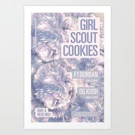 Girl Scout Cookies Art Print
