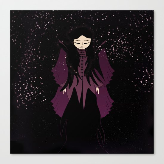 Princess of stars Canvas Print