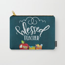 Blessed teacher Carry-All Pouch