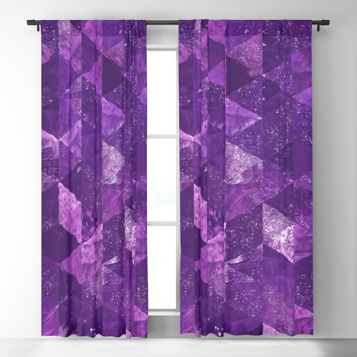 Abstract Geometric Background #35 Blackout Curtain