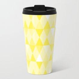Harlequin Print Yellows I Travel Mug