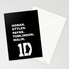 One Direction Stationery Cards