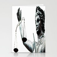 justice Stationery Cards featuring Justice ? by arnedayan