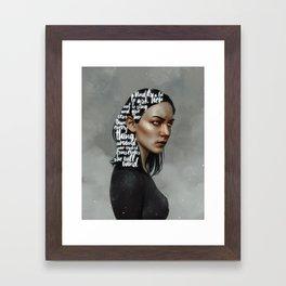 Songs XVIII.  Framed Art Print